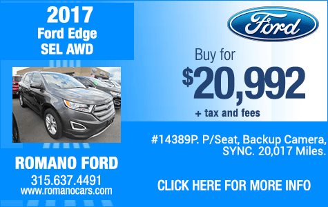 Used 2017 Ford Edge SEL AWD