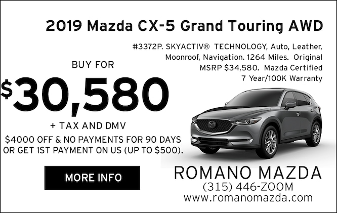 Mazda Certified 2019 CX-5 Grand Touring AWD