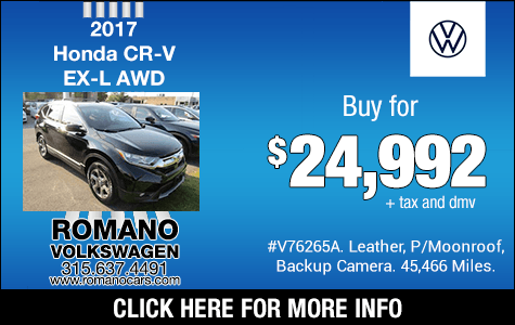Used 2017 Honda CR-V EX-L AWD