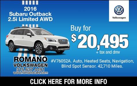 Used 2016 Subaru Outback 2.5 Limited AWD