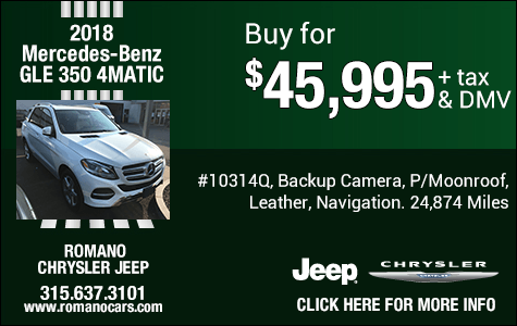 Used 2018 Mercedes-Benz GLE 350 4MATIC