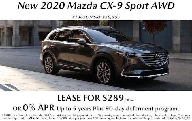 New 2020 Mazda Specials & Lease Deals Near Me in Syracuse ...