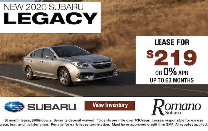 New 2020 Subaru Legacy Lease