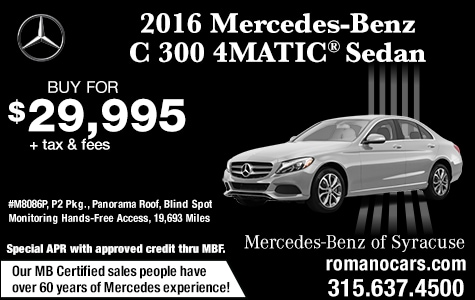 Pre-Owned 2016 Mercedes-Benz C 300 4MATIC Sedan