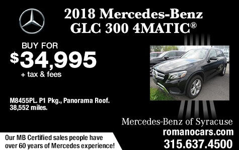 Used 2018 Mercedes-Benz GLC 300 4MATIC SUV