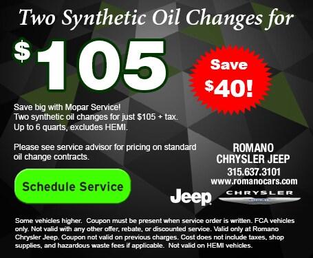 schedule chrysler jeep auto service at dealer near me fayetteville ny romano chrysler jeep fayetteville ny