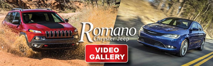 Romano Chrysler Jeep Videos Logo