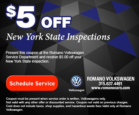 $5 off NYS Inspection Coupon