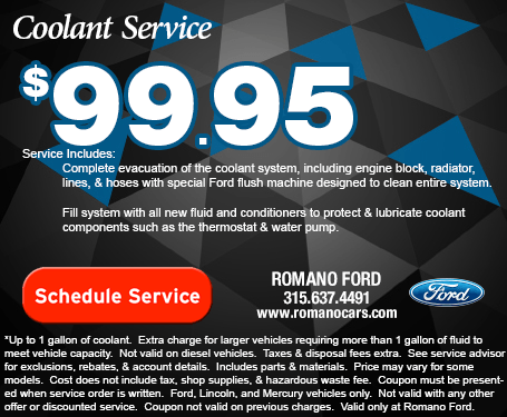 Ford Coolant Service