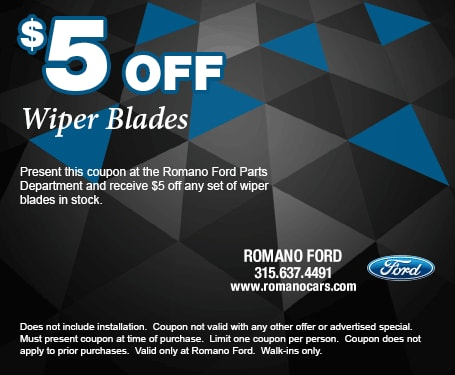 $5-Off-New-Wiper-Blades-at-Romano-Ford