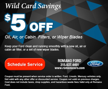 $5 Off Filters or Wiper Blades