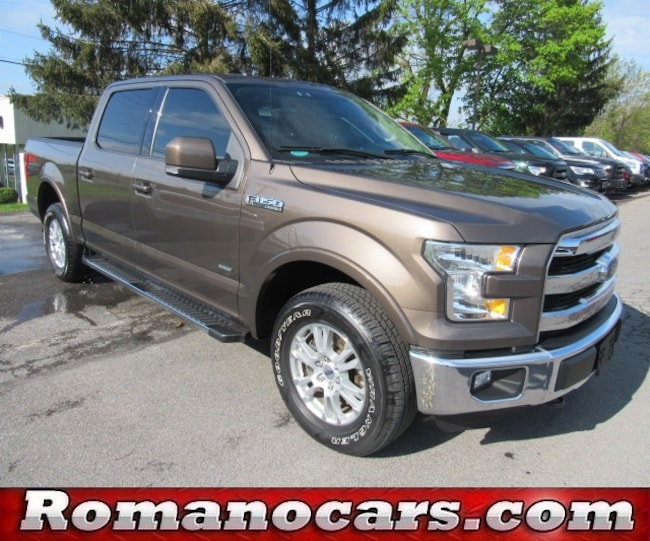 2015 F 150 For Sale >> Used 2015 Ford F 150 For Sale At Romano Ford Vin 1ftew1eg8ffc10416
