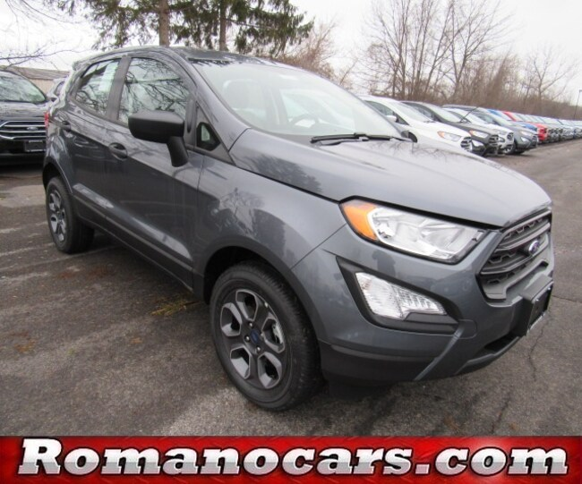 New 2019 Ford EcoSport For Sale at Romano Ford | VIN: MAJ6S3FL9KC257804