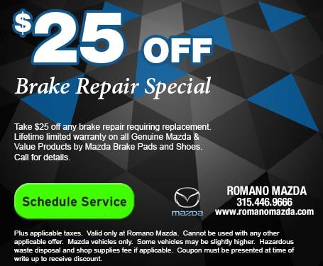 Mazda Brake Special
