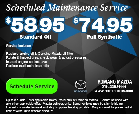 Mazda Scheduled Maintenance