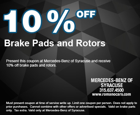 10% off Brake Pads and Rotors