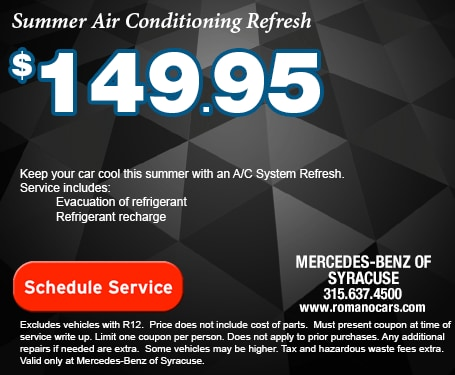 Mercedes-Benz AC System Recharge