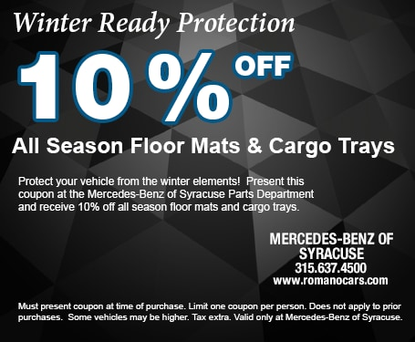 10% off All Season Floor Mats and Trunk Trays
