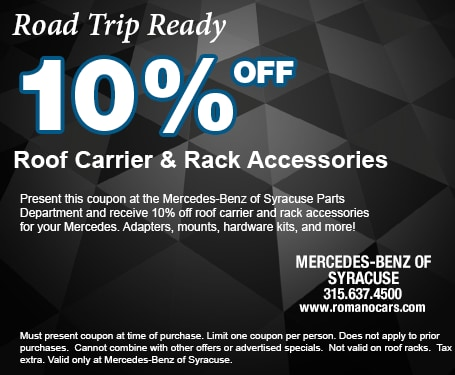 10% off Roof Rack Accessories