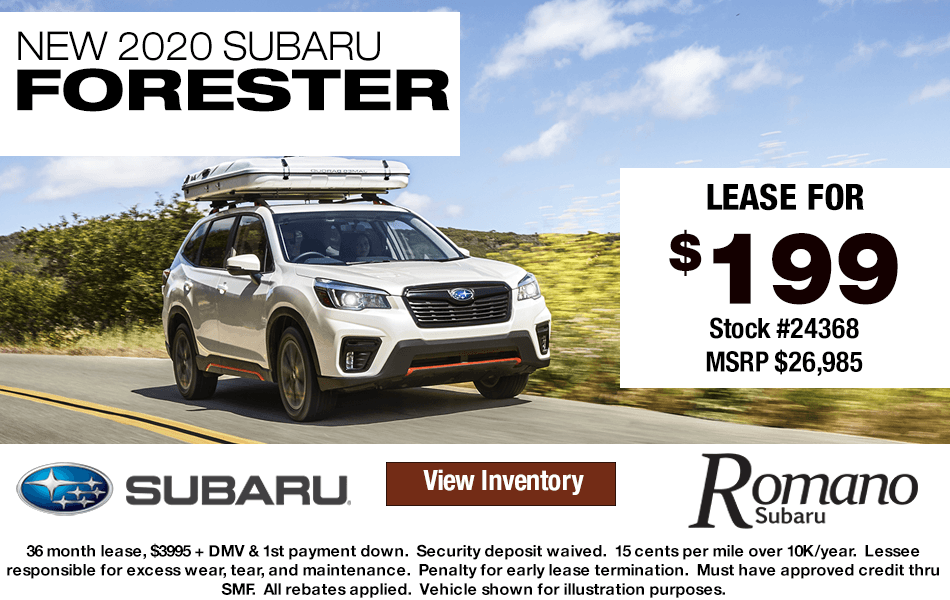 New 2020 Subaru Forester Leases