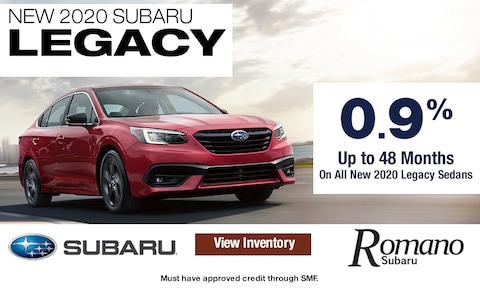 Special APR on New 2020 Subaru Legacy Sedans