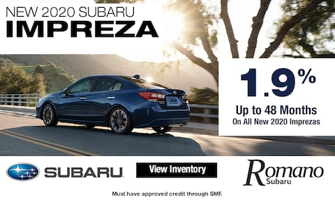 Special APR on New 2020 Subaru Imprezas