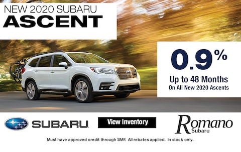 Special APR on New 2020 Subaru Ascents
