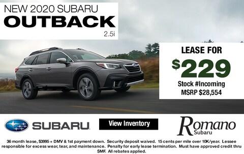 New 2020 Subaru Outback 2.5i AWD