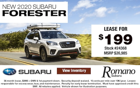 New 2020 Subaru Forester AWD