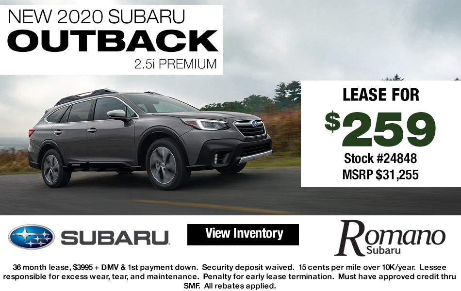 New 2020 Subaru Outback Leases Syracuse