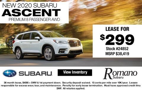 New 2020 Subaru Ascent Premium 8-Passenger AWD