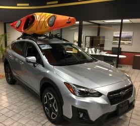 Thule Kayak Rack for Subaru