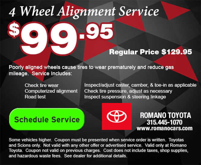 Toyota 4 Wheel Alignment