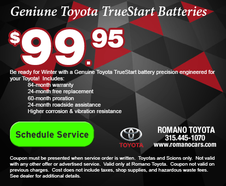 Genuine Toyota TrueStart Batteries