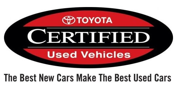 Toyota Certified Used Vehicle Logo