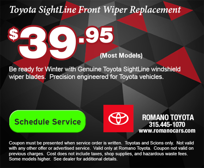 Toyota SightLine Wiper Blades