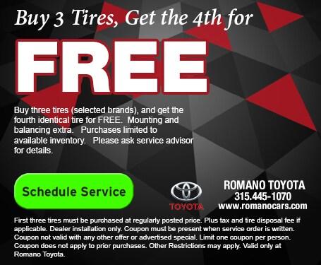 Toyota Tire Savings in East Syracuse NY