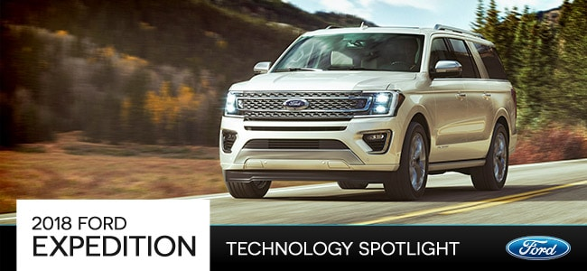 2018 Ford Expedition Technology in Romeo, MI