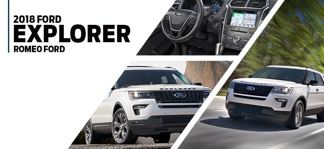 2018 Ford Explorer in Romeo, MI