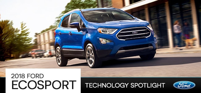 2018 Ford EcoSport Technology in Romeo, MI