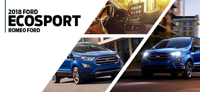 2018 Ford EcoSport in Romeo, MI