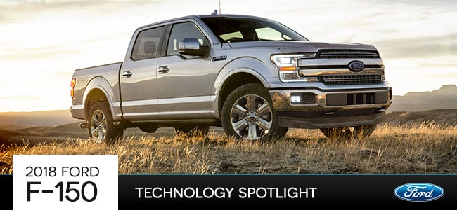 2018 Ford F-150 Technology in Romeo, MI