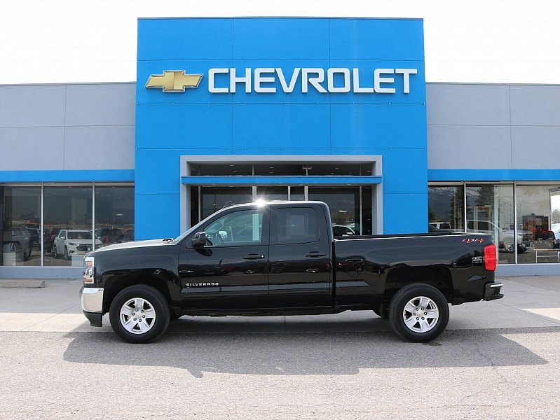 2018 Chevrolet Silverado 1500 4WD Double Cab 143.5 LT w/1LT Extended Cab Pickup