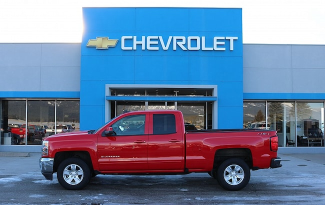 2018 Chevrolet Silverado 1500 4WD LT Full Size Truck