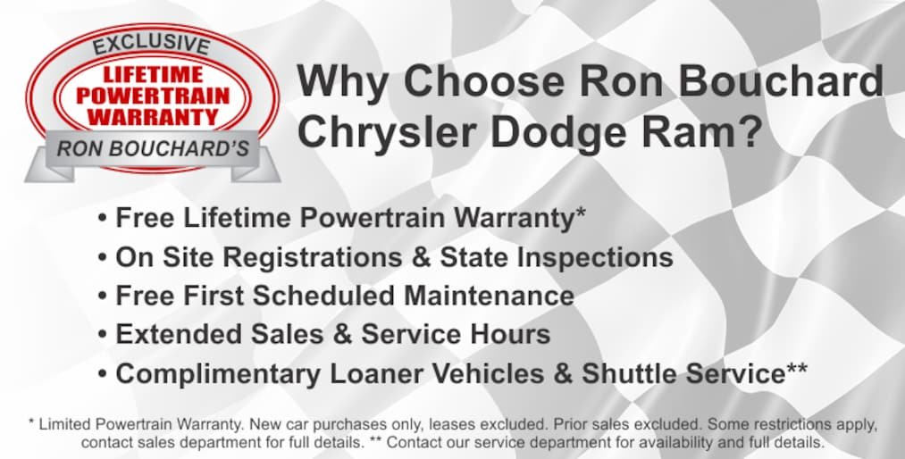 Ron Bouchard Honda >> New & Used Chrysler Dodge Ram Dealer | Ron Bouchard's ...