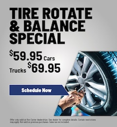 Tire Rotate & Balance Special