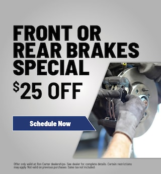 Front or Rear Brakes Special