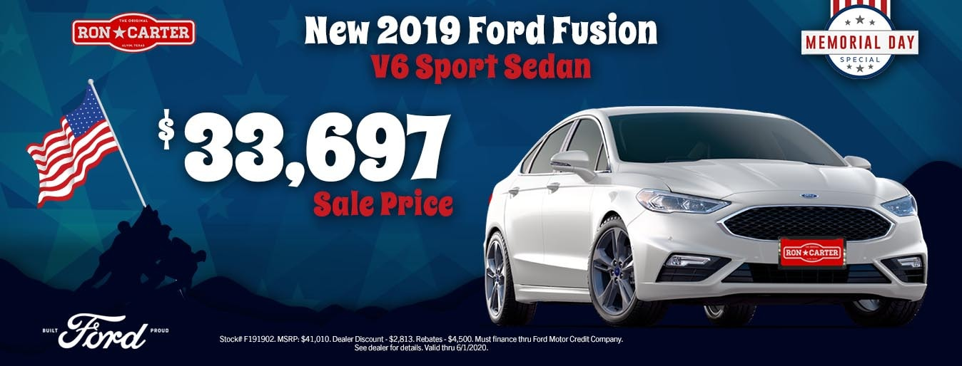 Ron Carter Ford Alvin >> New Ford Specials   Alvin, TX.   Ron Carter Ford