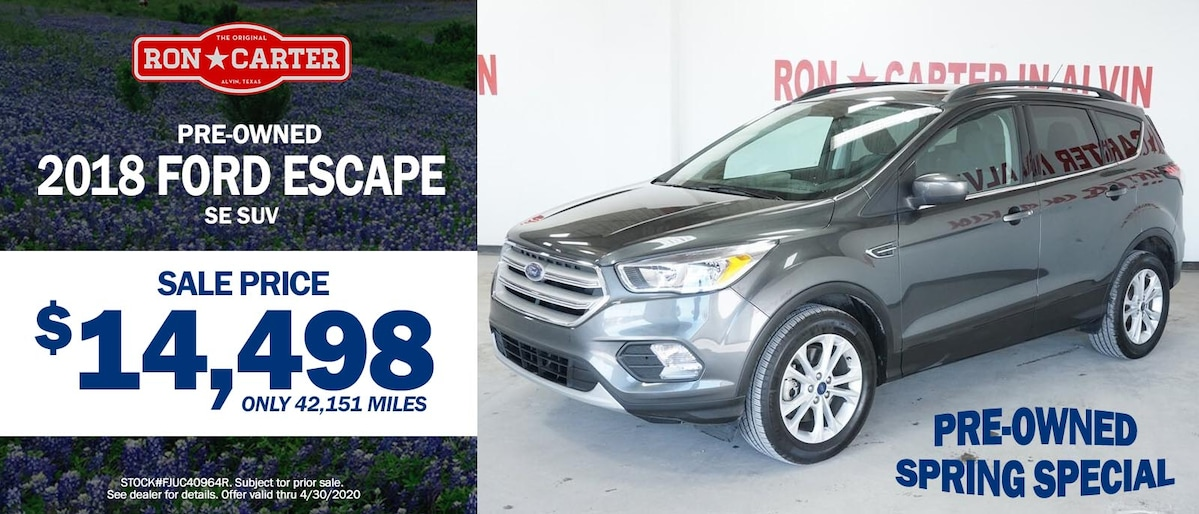Ron Carter Ford Alvin >> New & Used Ford Dealer   Ron Carter Ford Serving Alvin, Pearland, League City, & Friendswood, TX.