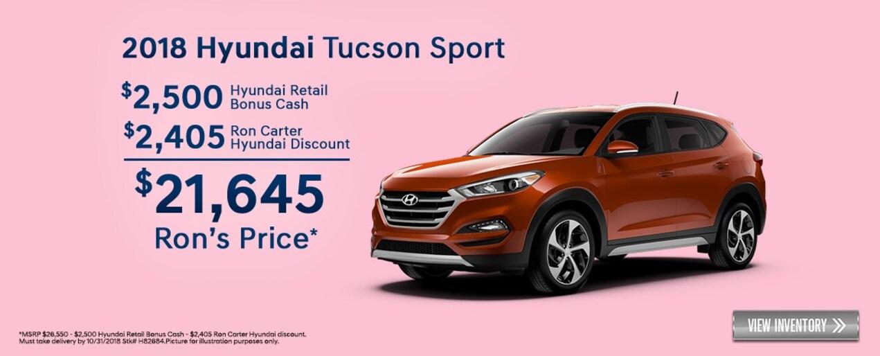 Ron Carter Hyundai >> New and Used Hyundai Dealer near Houston | Ron Carter Hyundai